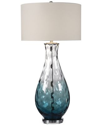 Uttermost vescovato water glass table lamp