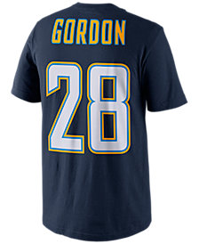 Nike Men's Melvin Gordon Los Angeles Chargers Pride Player T-Shirt