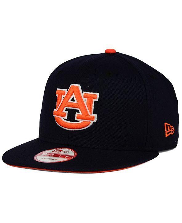 New Era Auburn Tigers Core 9FIFTY Snapback Cap