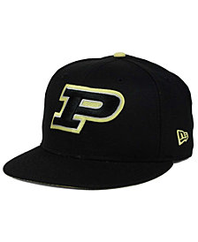 New Era Purdue Boilermakers Core 9FIFTY Snapback Cap