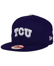 New Era TCU Horned Frogs Core 9FIFTY Snapback Cap