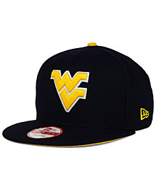 New Era West Virginia Mountaineers Core 9FIFTY Snapback Cap