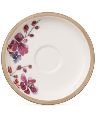 Artesano Provencal Lavender Collection Porcelain After Dinner Cup Saucer