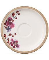 Villeroy & Boch Artesano Provencal Lavender Collection Porcelain After Dinner Cup Saucer