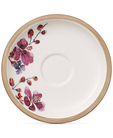 Villeroy & Boch Artesano Provencal Lavender Collection Porcelain After Dinner Cup Saucer