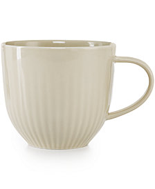CLOSEOUT! Hotel Collection Modern Dinnerware Porcelain Bisque Mug, Created for Macy's