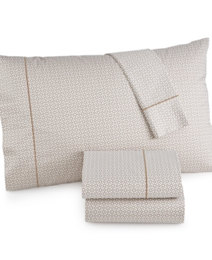 Hotel Collection 525 Thread Count Printed King Sheet Set Created for Macys Bedding