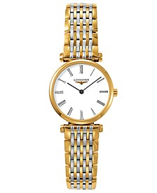 Women's La Grande Classique de Longines Two Tone Stainless Steel Bracelet Watch L42092117