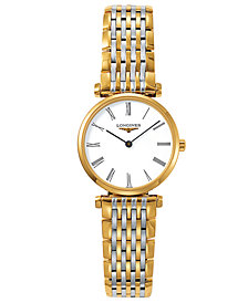 Longines Women's La Grande Classique de Longines Two Tone Stainless Steel Bracelet Watch L42092117