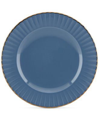 Dinnerware Ironstone Shades of Blue Accent Plate