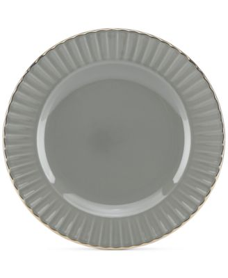 Dinnerware Ironstone Shades of Grey Party Plate