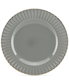 Marchesa by Lenox Dinnerware Ironstone Shades of Grey Party Plate