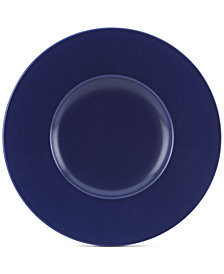 kate spade new york Larabee Dot Navy Collection Stoneware Dessert Plate