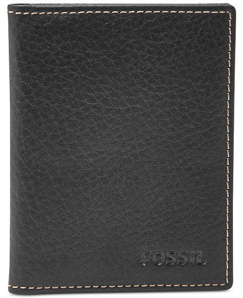 363c74e8344455 Fossil Lincoln Bi-Fold Leather Card Case & Reviews - All Accessories ...
