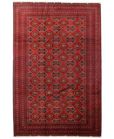 CLOSEOUT!  Fine Rug Gallery, One of a Kind, Fine Beshir Red 7'6\\\