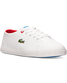 Lacoste Little Boys' Marcel ADV Casual Sneakers from Finish Line
