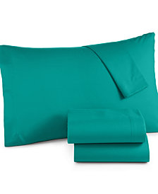 Microfiber California King 4-Pc Sheet Set