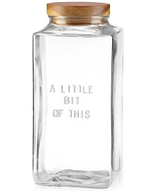 "kate spade new york all in good taste ""A Little Bit of This"" Canister"