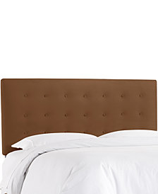 Hawthorne Queen Button Headboard, Quick Ship