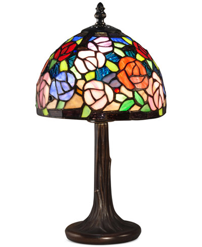 Dale Tiffany Carnation Accent Table Lamp