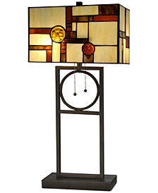 Dale Tiffany Boca Raton Metal Table Lamp
