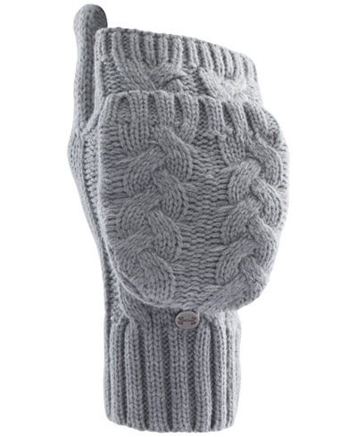 Under Armour Around Town Flip Cable-Knit Mittens