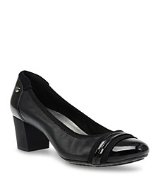Sport Guardian Block Heel Pumps