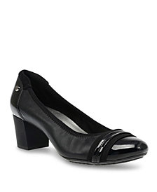 Anne Klein Sport Guardian Block Heel Pumps