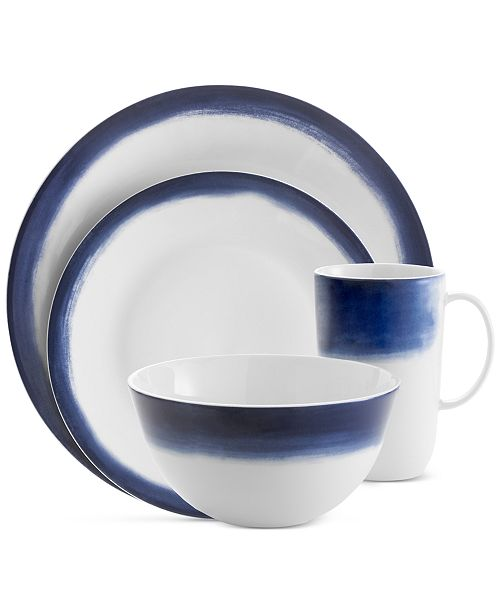 Simplicity Indigo Ombre 4-Pc. Place Setting