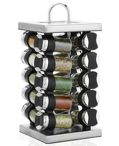 Martha Stewart Collection Square Stainless Steel E Rack 21 Piece Set Created For