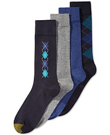 4-Pack Argyle Dress Socks
