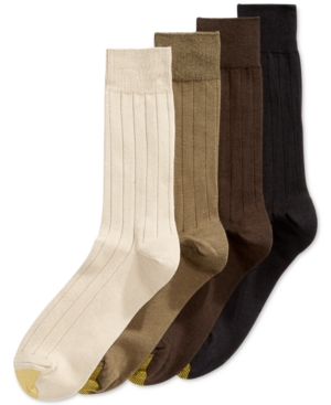 Gold Toe Premium Socks 4-Pack, Only at Macy's