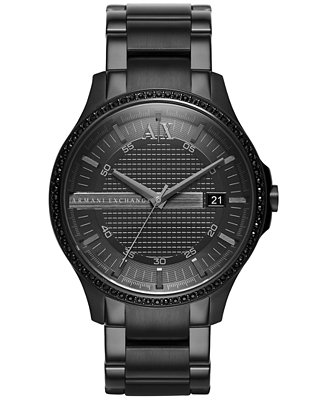 A|X Armani Exchange Men's Ion-Plated Stainless Steel