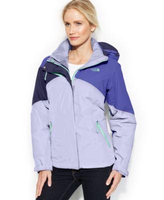 The north face women's fleece cinnabar triclimate jacket