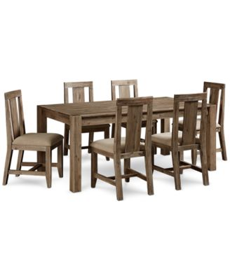 Elegant Canyon 7 Piece Dining Set, Created For Macyu0027s, (72. Furniture