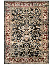 CLOSEOUT! HARAZ HAR1143 Black/Red Area Rugs