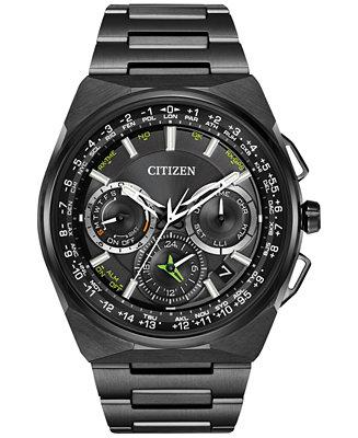 Citizen Men's Eco-Drive Titanium Bracelet Watch 45mm
