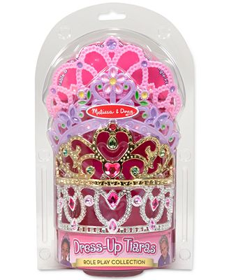 Melissa and Doug Girls' 4-Pack Dress-Up Tiaras