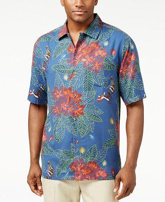 Tommy bahama big and tall harbour lights holiday shirt for Tommy bahama christmas shirt 2014