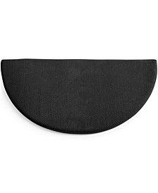 "CLOSEOUT! SensorGel Memory Foam 40"" Half Round Rug, Created for Macy's"