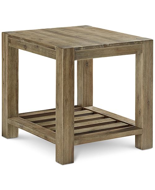 Macys Furniture Clearance: Furniture Canyon End Table, Created For Macy's & Reviews