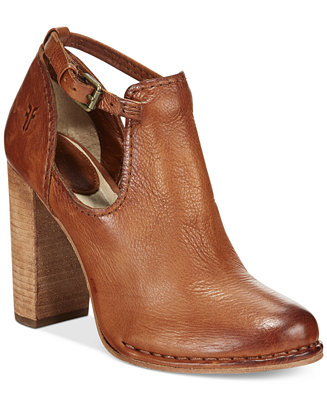 Frye Women S Margret Cutout Shooties Boots Shoes Macy S
