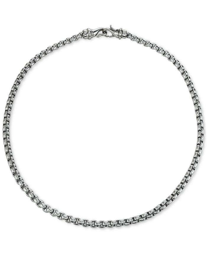 Macy's - Chain Necklace in Stainless Steel