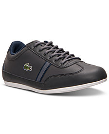 Lacoste Big Boys' Misano Casual Sneakers from Finish Line