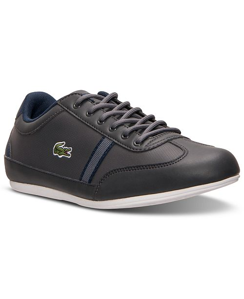b1cad2087 Lacoste Big Boys  Misano Casual Sneakers from Finish Line   Reviews