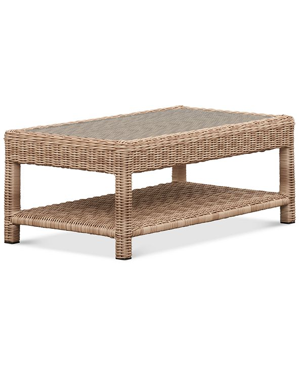 Furniture Willough Outdoor Coffee Table, Created for Macy's