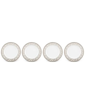Opal Innocence Collection Bone China 4-Pc. Bread & Butter Plates Set