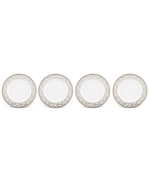 Lenox Opal Innocence Collection Bone China 4-Pc. Bread & Butter Plates Set
