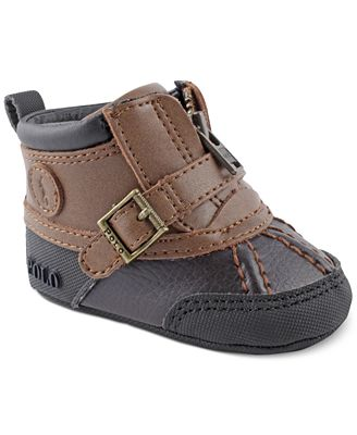 Polo Ralph Lauren Baby Boys Colby Mid Zip Rugged Boots