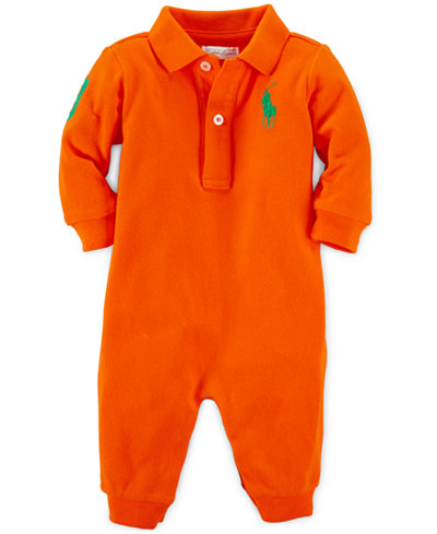 Ralph Lauren Baby Boys Polo Coverall Shop All Baby
